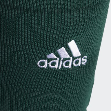 Football Green Adizero Football Cushioned Crew Socks