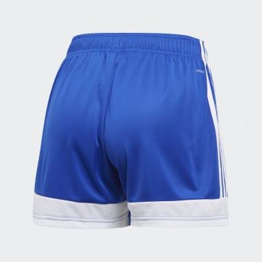 Women Soccer Blue Tastigo 19 Shorts