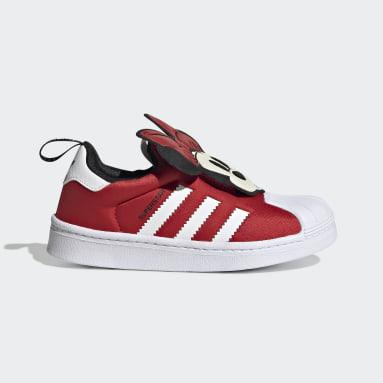 Children Originals Red Disney Superstar 360 Shoes