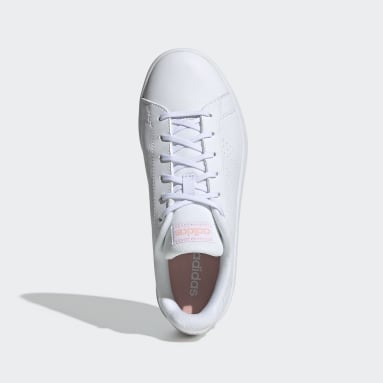 Women's Essentials White Advantage Base Shoes