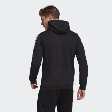 Men Soccer Black Tiro 21 Sweat Hoodie