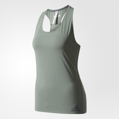 Playera Climachill Striped Verde Mujer Training