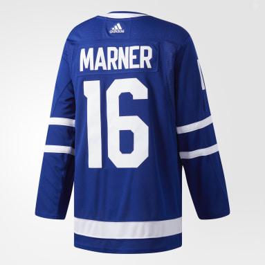 Maillot Maple Leafs Domicile Authentique Pro Bleu Hockey