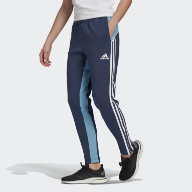 Women's Sportswear Blue adidas Sportswear Colorblock Pants