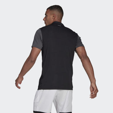 Playera Polo de Tenis Club Negro Hombre Tennis