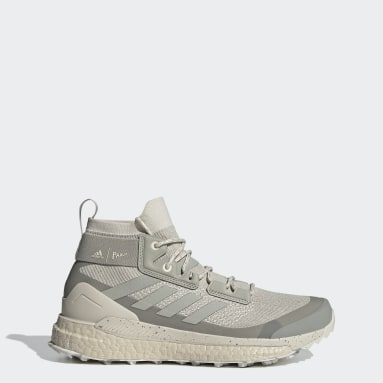 Dam TERREX Beige Terrex Free Hiker Parley Hiking Shoes