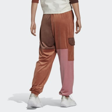Women Originals Burgundy Cargo Joggers