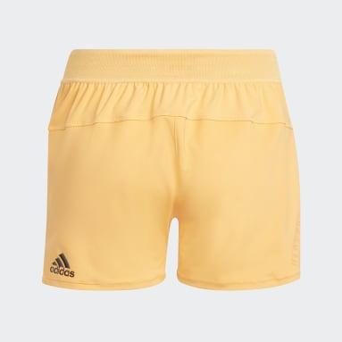 Pantalón corto HEAT.RDY Naranja Niña Gimnasio Y Entrenamiento