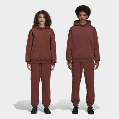 Pantalon molleton Pharrell Williams Basics (Non genré) Marron Originals