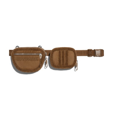 Originals Brown Sherpa Belt Bag