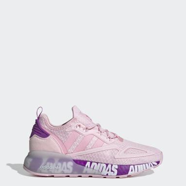 Women Originals Pink ZX 2K Boost Shoes