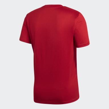Mænd Fitness Og Træning Rød Core 18 træningstrøje