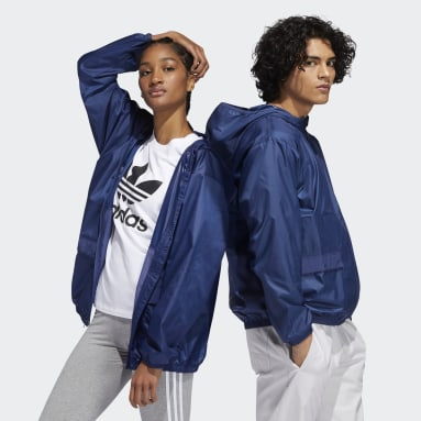 Originals Blue Lightweight Windbreaker