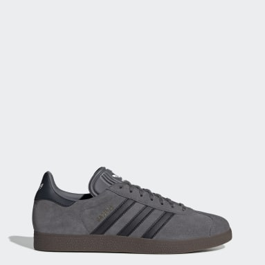 Men Originals Grey Gazelle Shoes