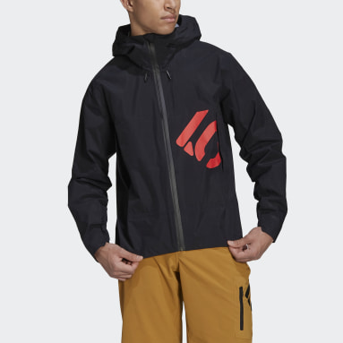 Men Five Ten Black Five Ten All-Mountain Rain Jacket
