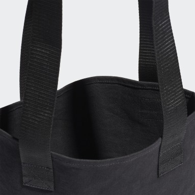 Lifestyle Black Canvas Shopper