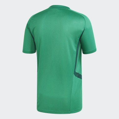 Men Gym & Training Green Tiro 19 Training Jersey