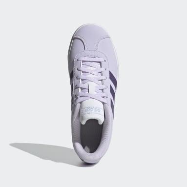 Zapatillas VL Court 2.0 (UNISEX) Violeta Niño Diseño Deportivo