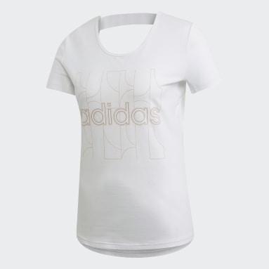 Women Gym & Training White Motion T-Shirt