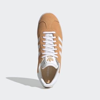 Women Originals Orange Gazelle Shoes