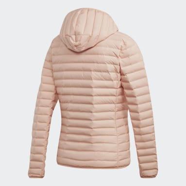 Campera con capucha Varilite Soft Rosa Mujer Outdoor