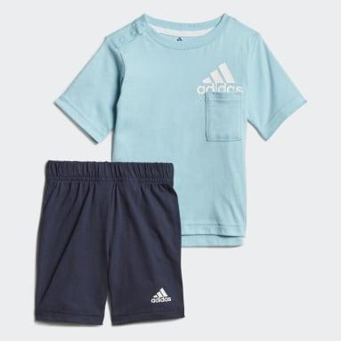 Kids Gym & Training Blue Badge of Sport Summer Set