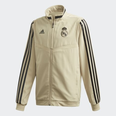 Boys Football Red Real Madrid Presentation Jacket