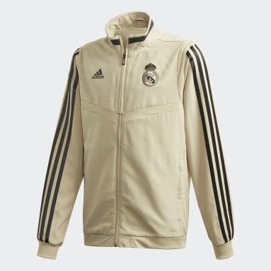 Veste de présentation Real Madrid Rouge Garçons Football