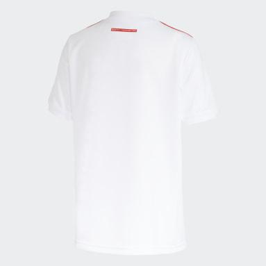 Camisa 2 Internacional 21/22 Branco Meninos Futebol