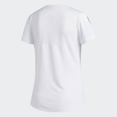 Frauen Running Own the Run T-Shirt Weiß