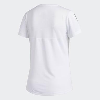 T-shirt Own the Run Blanc Femmes Running