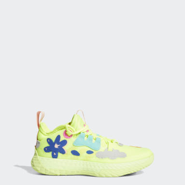 Youth Basketball Yellow Harden Vol. 5 Shoes