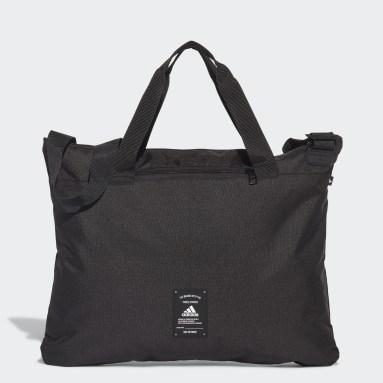 ไลฟ์สไตล์ สีดำ กระเป๋าหิ้ว adidas Essentials 3-Stripes
