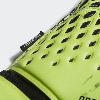 Guantes portero Predator 20 Match Fingersave Verde Fútbol
