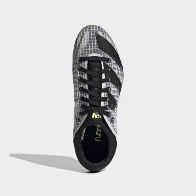 Frauen Leichtathletik Sprintstar Spike-Schuh Weiß