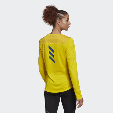 Women's Running Yellow Boston Marathon® Qualified Tee