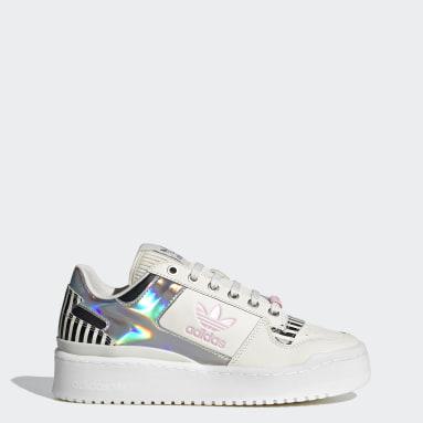 ผู้หญิง Originals สีขาว รองเท้า Forum Bold