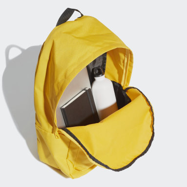 Training Yellow Classic Big Logo Backpack