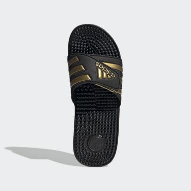 Plavání černá Pantofle Adissage