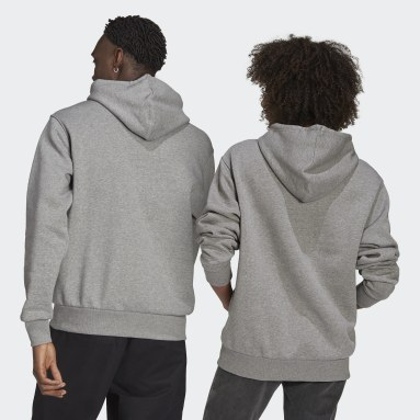 Originals Grey Shmoofoil Logo Hoodie (Gender Neutral)