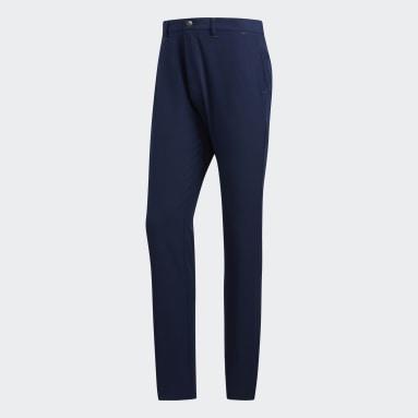 Muži Golf modrá Kalhoty Ultimate365 Tapered