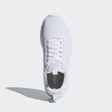 Women Walking White Lite Racer CLN Shoes