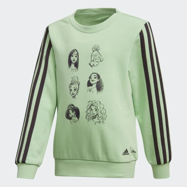 Girls Lifestyle Disney Crewneck Sweatshirt