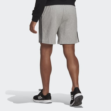 Heren Sportswear Grijs AEROREADY Essentials 3-Stripes Short