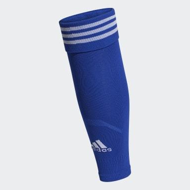 Pantorrilleras Team 18 Azul Fútbol