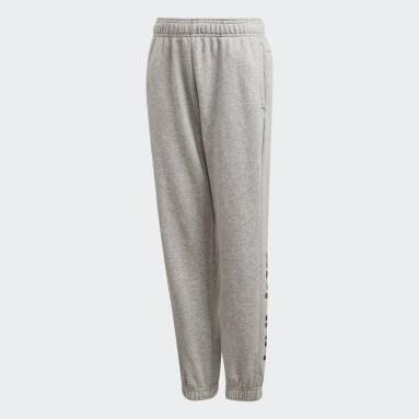 Kluci Sportswear šedá Kalhoty Essentials Linear