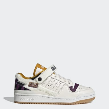 Women Originals White Forum Lo Girls Are Awesome Shoes