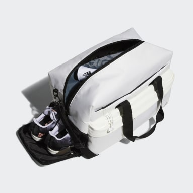 Men Golf White Duffel Bag