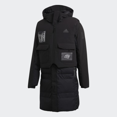 Men's TERREX Black MYSHELTER COLD.RDY Down Parka by Brock Fetch