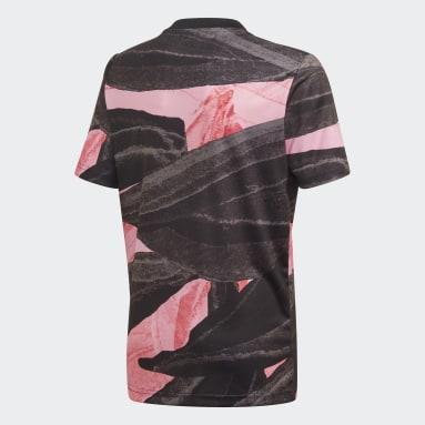 Camisa Pré-Jogo Juventus Preto Meninos Futebol
